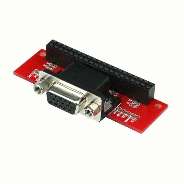 VGA adapter 666 for Raspberry Pi A+ B+ Raspberry Pi 3 Model B+ RPI 3 Model  B plus Raspberry Pi Zero Gert-VGA-adapter