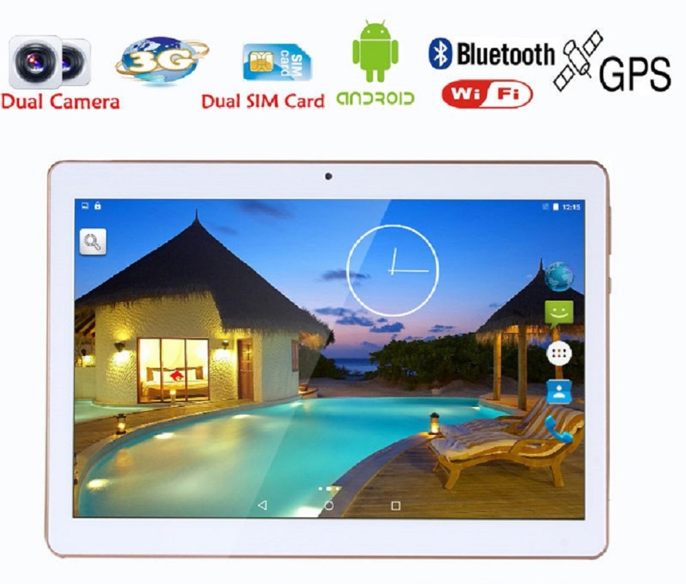 2018 I Più Nuovi 10.1 pollice tablets android 7.0 Octa Core 4g 32g 1280*800 IPS Schermo wifi bluetooth GPS mt8752 kid tablet per bambini