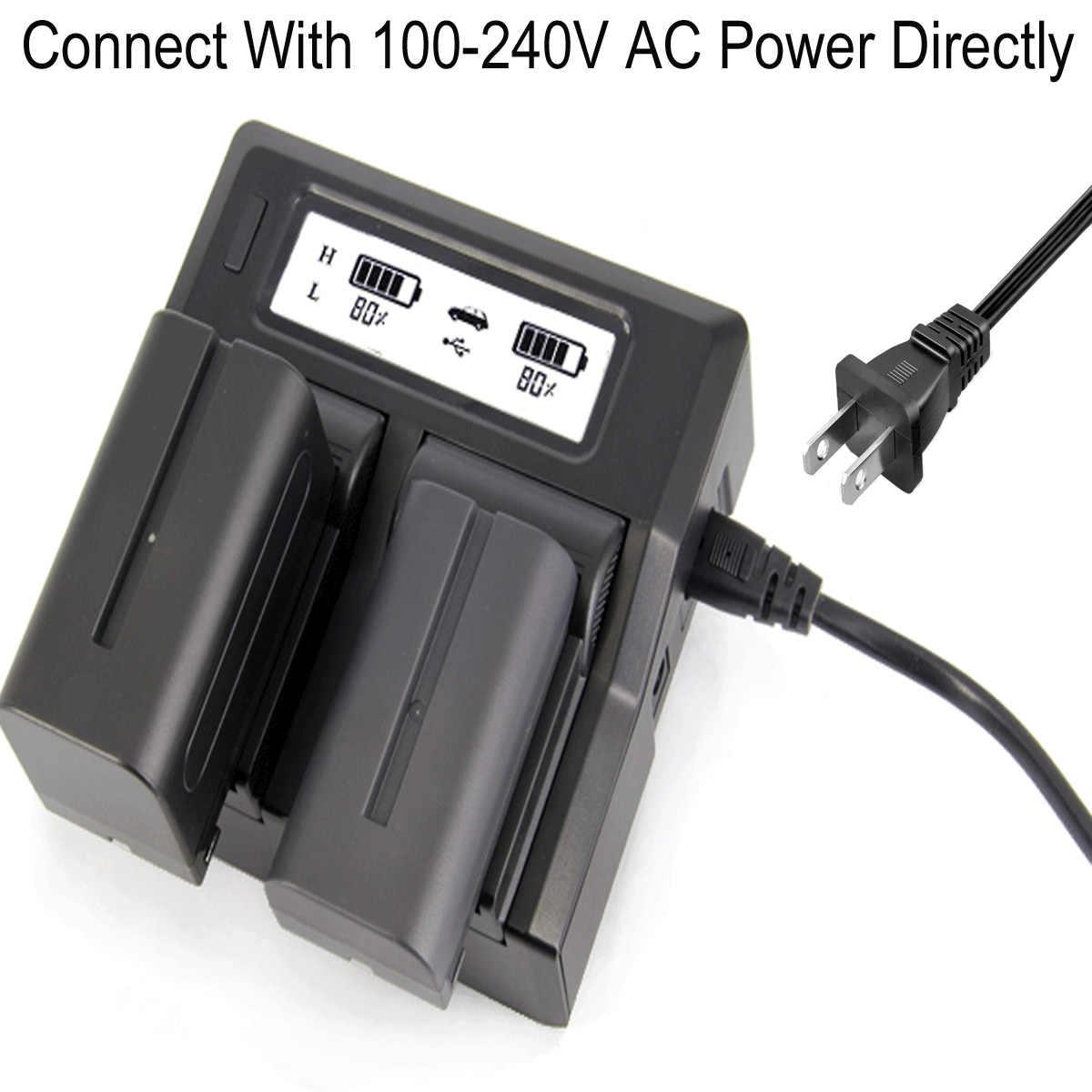 3x Batería 10400mAh 7,4V Para SONY HVR-Z1E HXR-NX5E