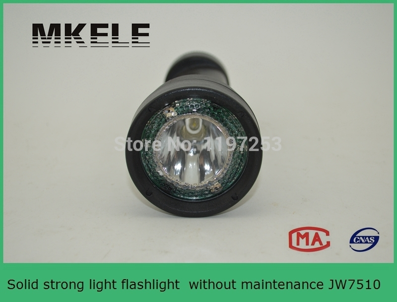 High Quality JW7510 Solid Strong Light Led Flashlight Without Maintenance Rechargeable
