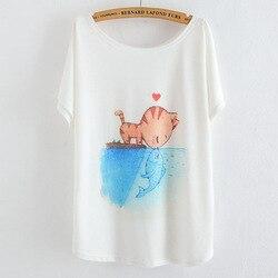 2017 new summer women casual t shirt women style thin plus size loose batwing sleeve women.jpg 250x250