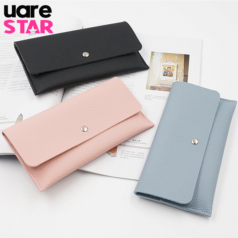 Brand Designer Women Long Wallets Thin Card Holder Bag Vintage Coin Purse Wallet Women Carteras Mujer спот crystal lux clt 020cw br