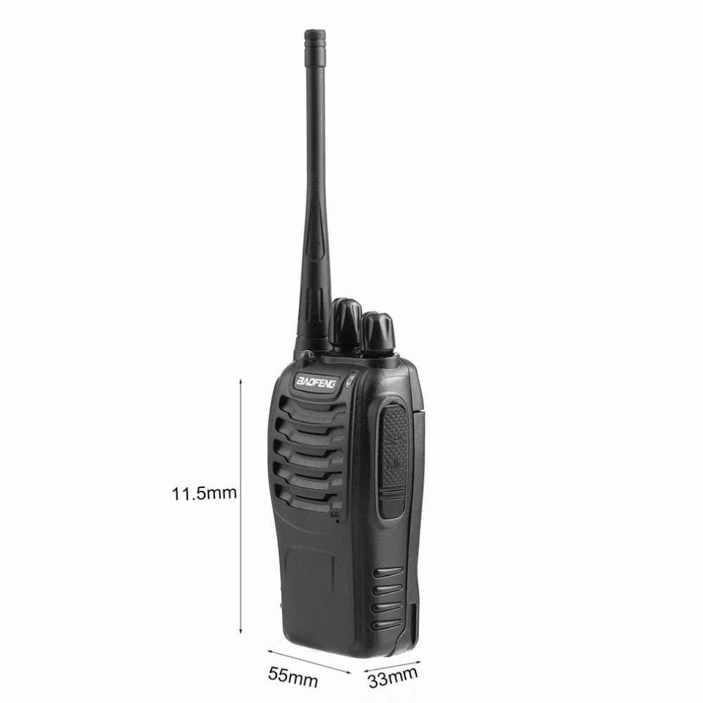 Baofeng BF-888S UHF 400-470 МГц портативная рация 2-полосная домашнее Ham радио 1500 мА/ч, литий-ионный аккумулятор Батарея SMA-антенна с гнездовым разъемом Макс 5 км