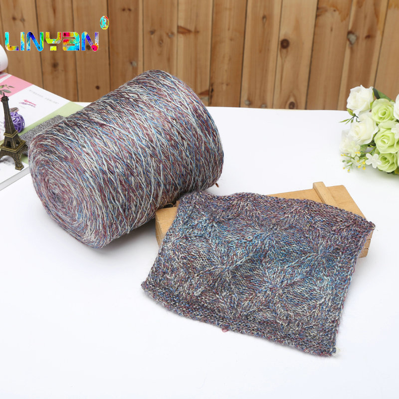 Knitting Yarn Crochet Needlework Spun Gold Dyeing Of Wool Fine Iceland Line Scarf Thread Thread Yarn For Hand Knitting Scarf T50