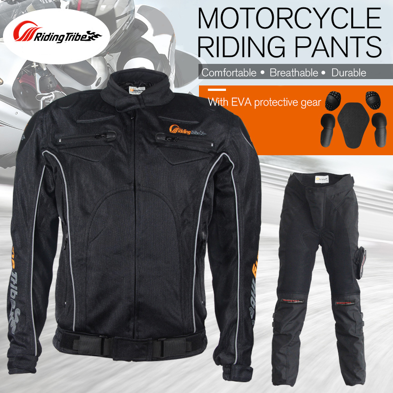 Riding Tribe Moto Jacket Men Women Mesh Motorcycle Jacket Summer Racing Motocross Protective Gear Coat Clothes Green Black M-3XL