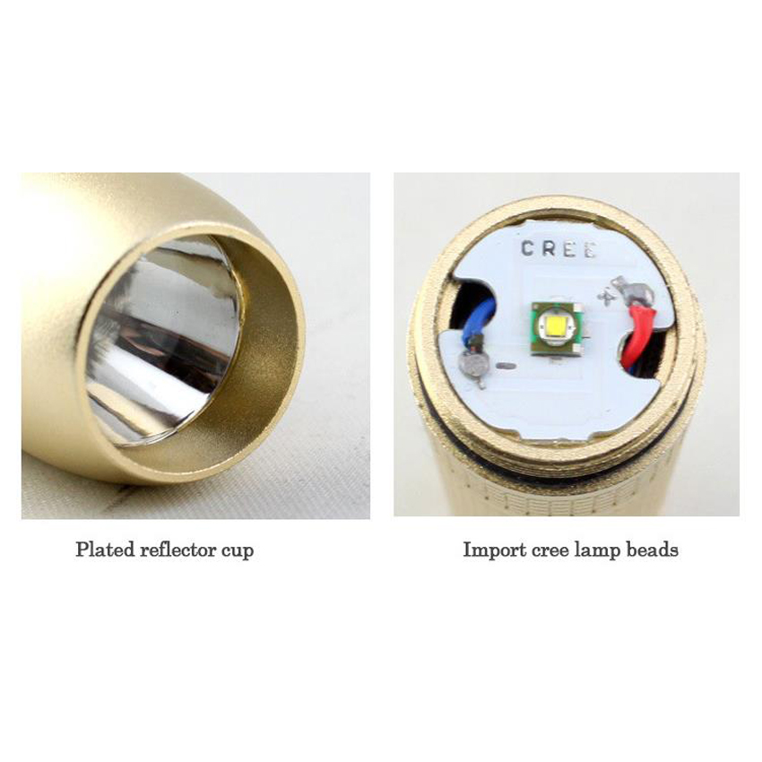 Pocket Led Flashlight Cree Xpe Torch White Light Special In Jewelry Jade Test Jade Identification Olight Handy Portable Light Excellent Quality In