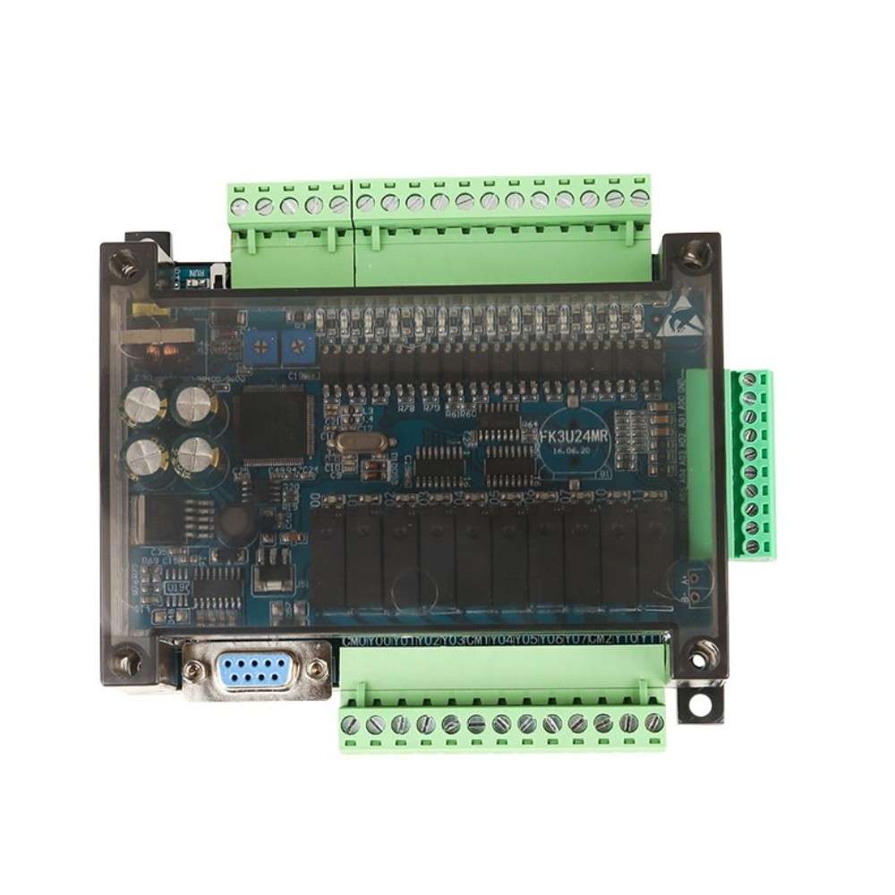 FX3U-14MR FX3U-14MT PLC Industrial Control Board 8 Input 6 Output 6AD 2DA And RS485 Compatible With FX1N And FX2N
