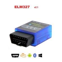 2015 Latest Version Super MINI ELM327 Bluetooth OBD2 Scanner ELM 327 V2.1 Bluetooth Smart Car Diagnostic Interface BT adapter