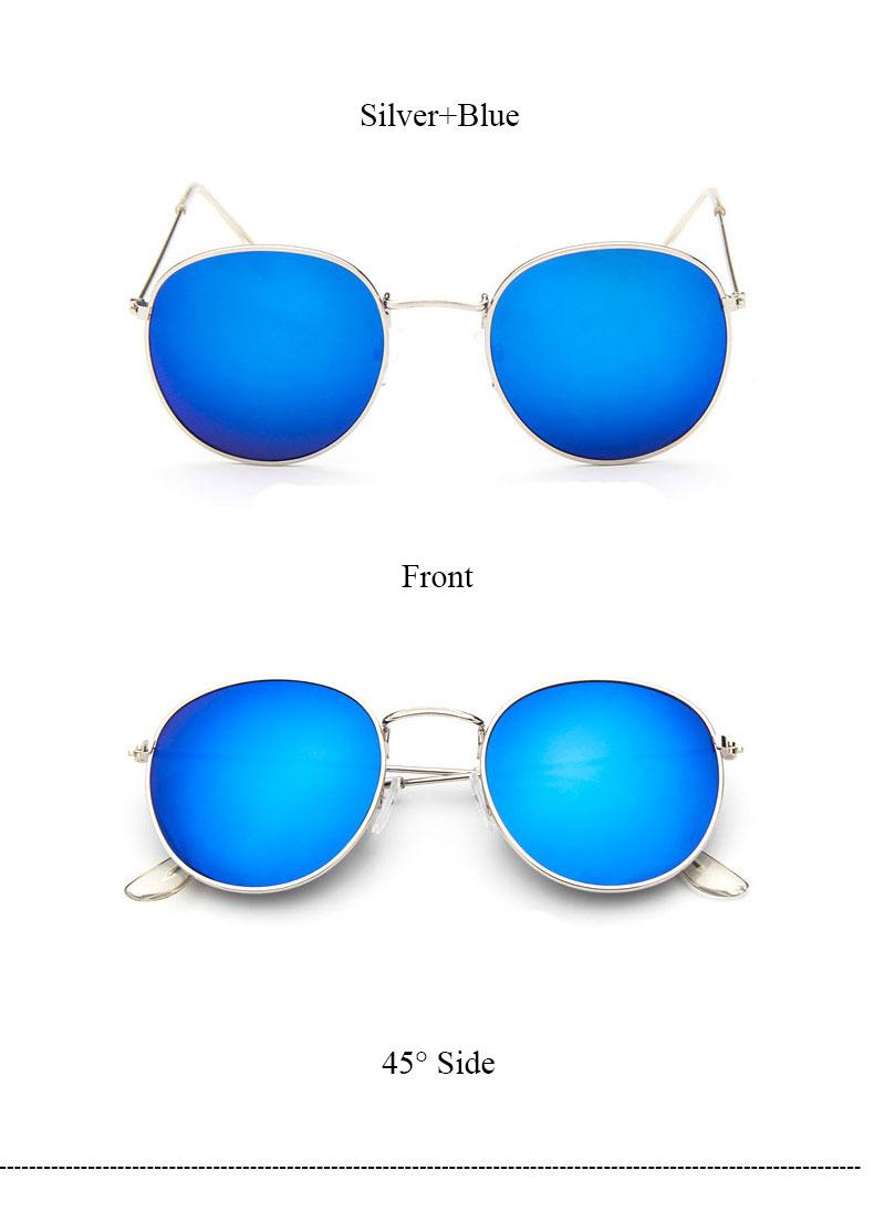 HTB1Dt1pQVXXXXb9XpXXq6xXFXXXg - Round Sunglasses Women Retro Brand Designer Classic Rose Gold Steampunk Sun Glasses Men UV400 Rayed Mirror Female UV400