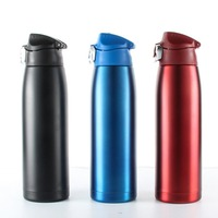 800ml Stainless Steel Vacuum Flask Sport Water Bottle Drinkig Thermoses Bottle Universal Travel Home Office Coffee Mug Drinkware