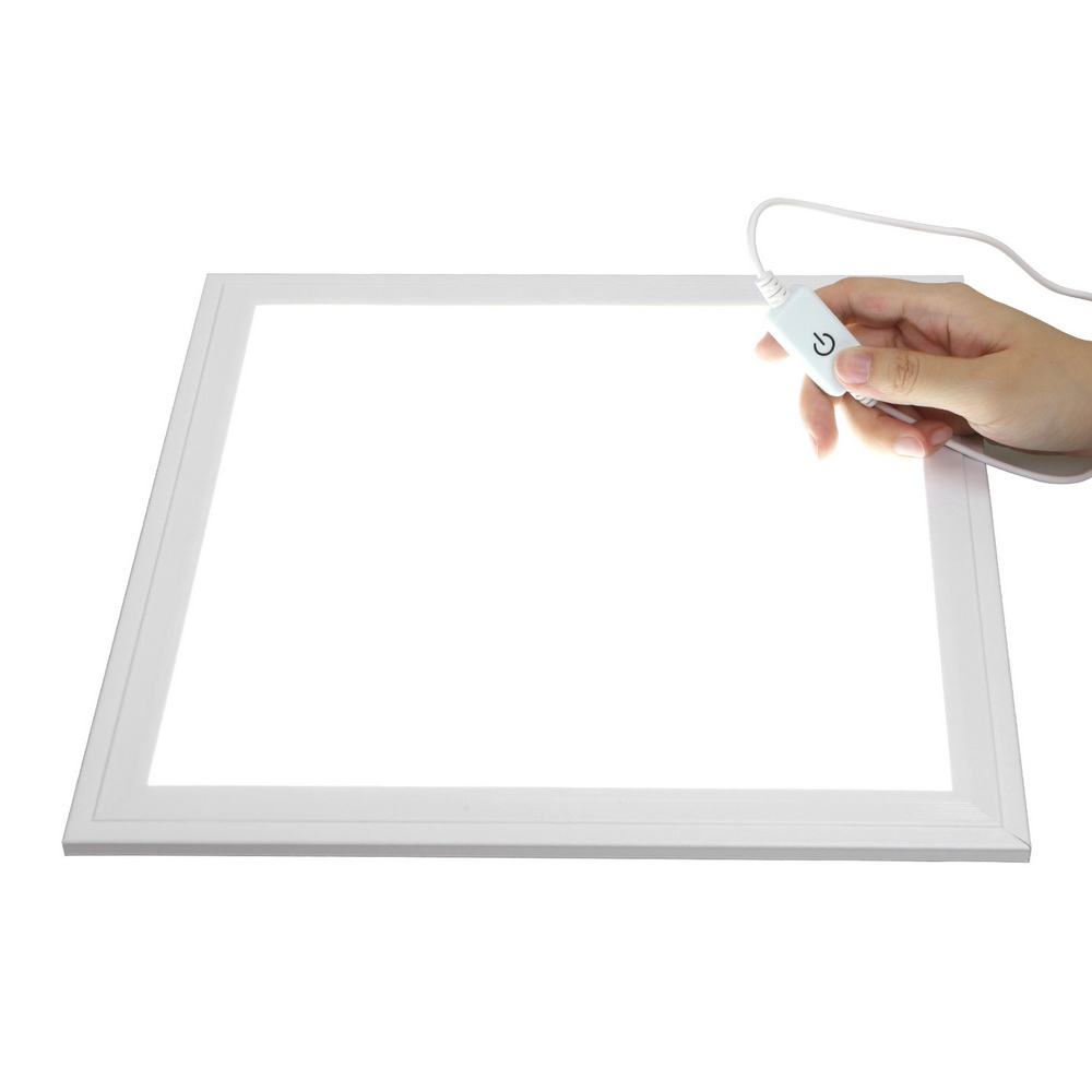 30x30cm dimmable bottom led light panel for tabletop home studio shadow free pure white background product photography toolin lighting from