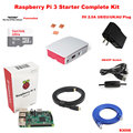Raspberry Pi 3 Model B 1GB WIFI Heatsink Case Official Case Starter Complete Kit S3006