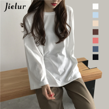 Solid Color High-Quality Harajuku Flare Sleeve T-Shirt For Women