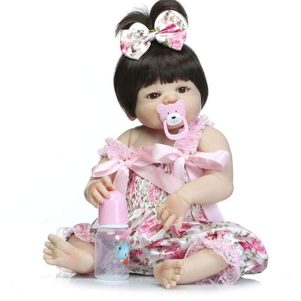 Reborn Doll Baby Simulation Doll Toys Cute Doll Companion Toy for Babies Infants for baby and children кукла 44271926101 usa berenguer reborn baby doll