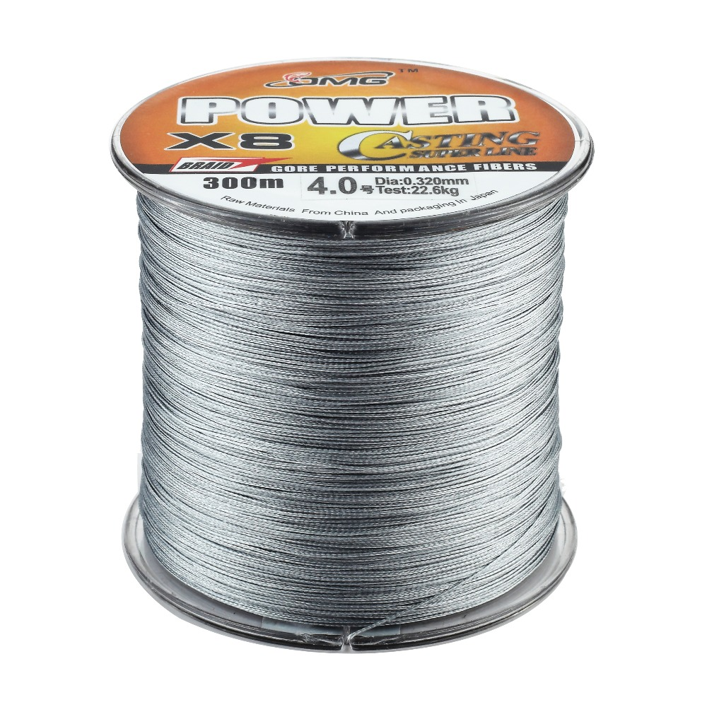Solid Color 500M Fishing LINE Polyethylene Material OMG Brand ...
