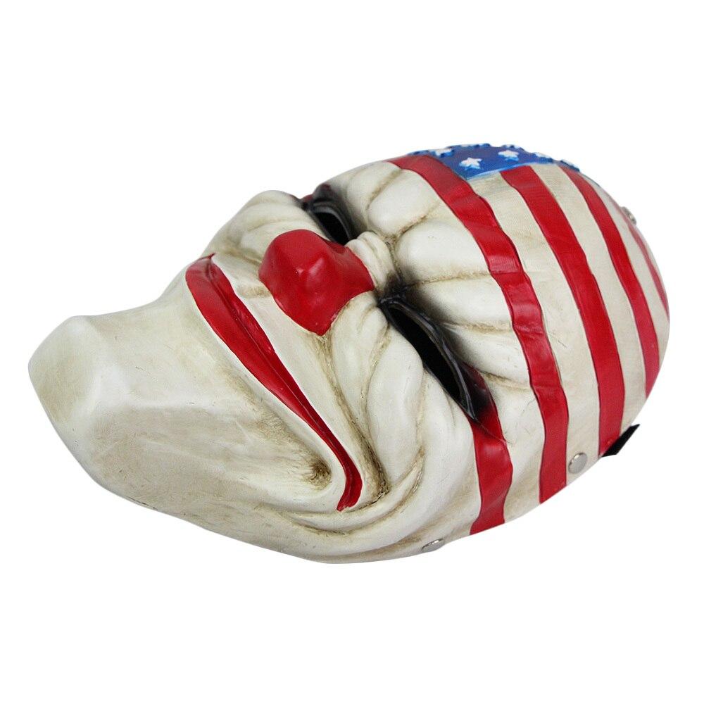 2015 Halloween Masks Cosplay American Flag Clown Cool Resin Army ...