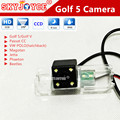 HD CCD Rear view camera Golf 5 vw New Bora back reverse camera Jetta Magotan PASSAT CC /VW POLO(2 cage) PHAETON car styling led