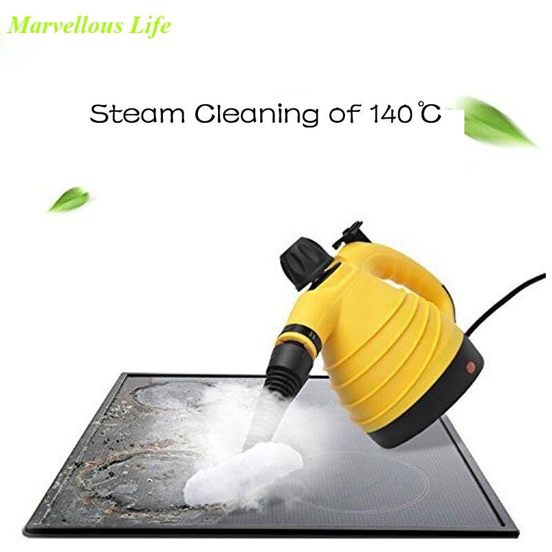 Electric Steam Cleaner Handheld Steam Cleaner Multi Purpose Steam Cleaner Machine Steam Mop Parowy Carpet Cleaner Kitfort raising steam