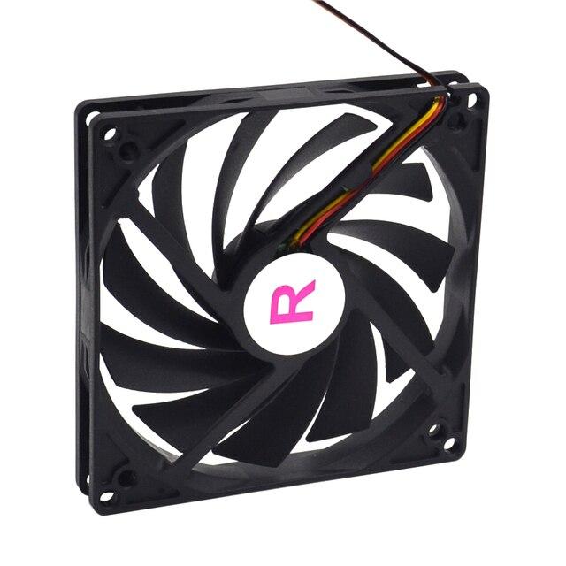 100Mm, 10Cm Fan, Enkele Ventilator, Ultra Dunne, Wasbaar, Super Mute, voor Voeding, Voor Computer Case Cooler
