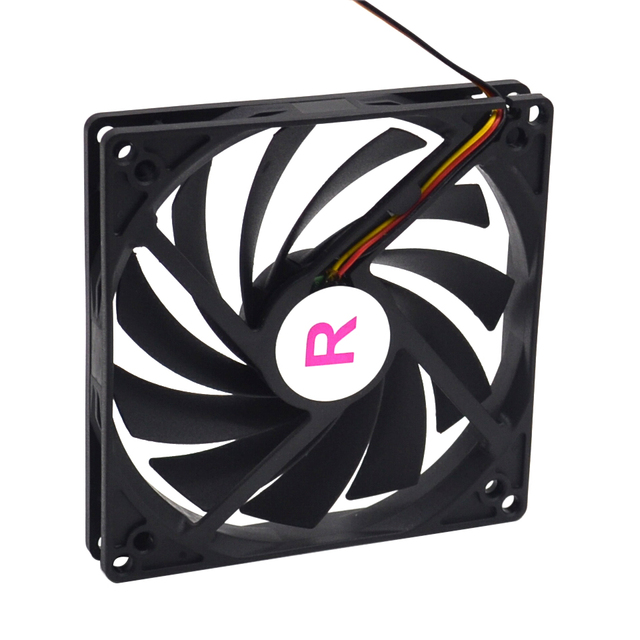 100mm, 10cm fan, Single fan, Ultra Thin, Washable, super mute, for power supply, for computer Case cooler