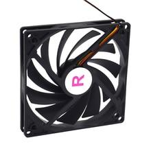 Ventilateur simple pour alimentation électrique Ultra mince et très silencieux de 100mm, 10cm, ventilateur pour refroidisseur coque dordinateur
