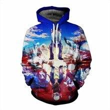 Tokyo Ghoul Hip Hop 3D Hoodies Sweatshirts