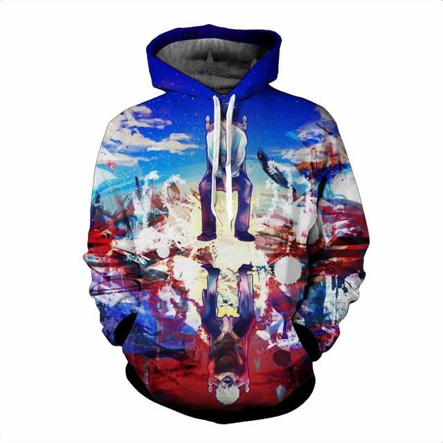 Tokyo Ghoul Hoodies Pullover Sweaters Ken Kaneki