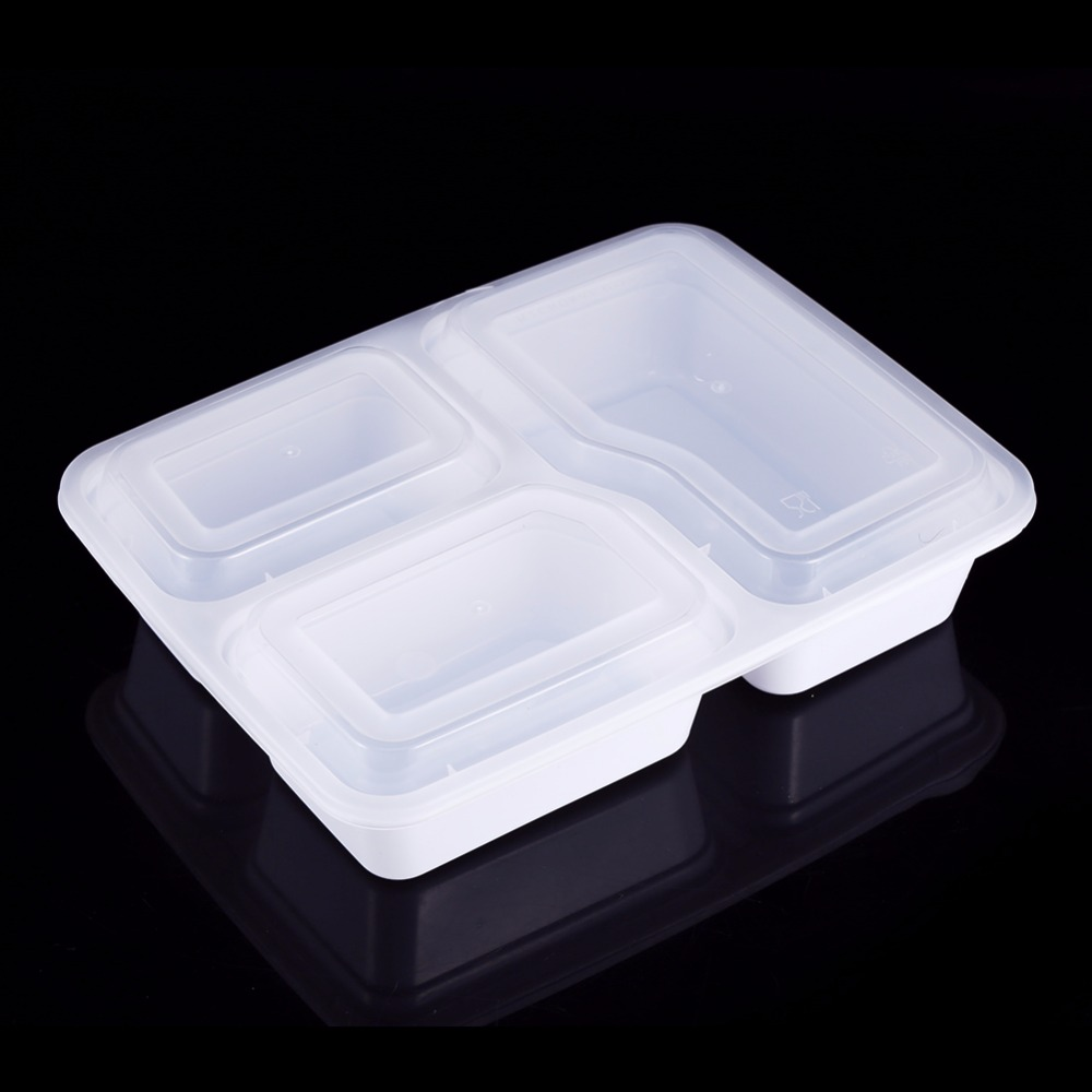 10pcsset ML Meal Prep Container Disposable Food Storage