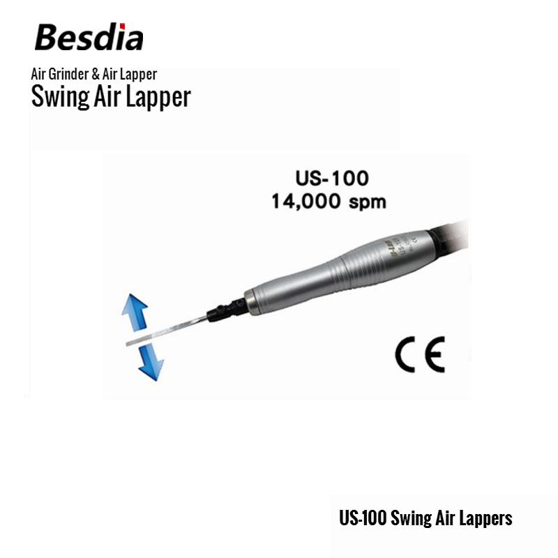 Тайван Besdia Air Grinder & Air Lapper US-100 Swing Air Lappers Пневматични инструменти
