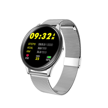 SN58 Smart watch IP68 smart bracelet band waterproof Fitness tracker Heart rate monitor Steel strip