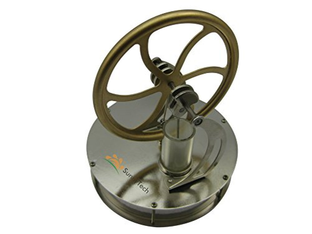 Low Temperature Stirling Engine Motor Steam Heat Education Model Toy Kit LT001