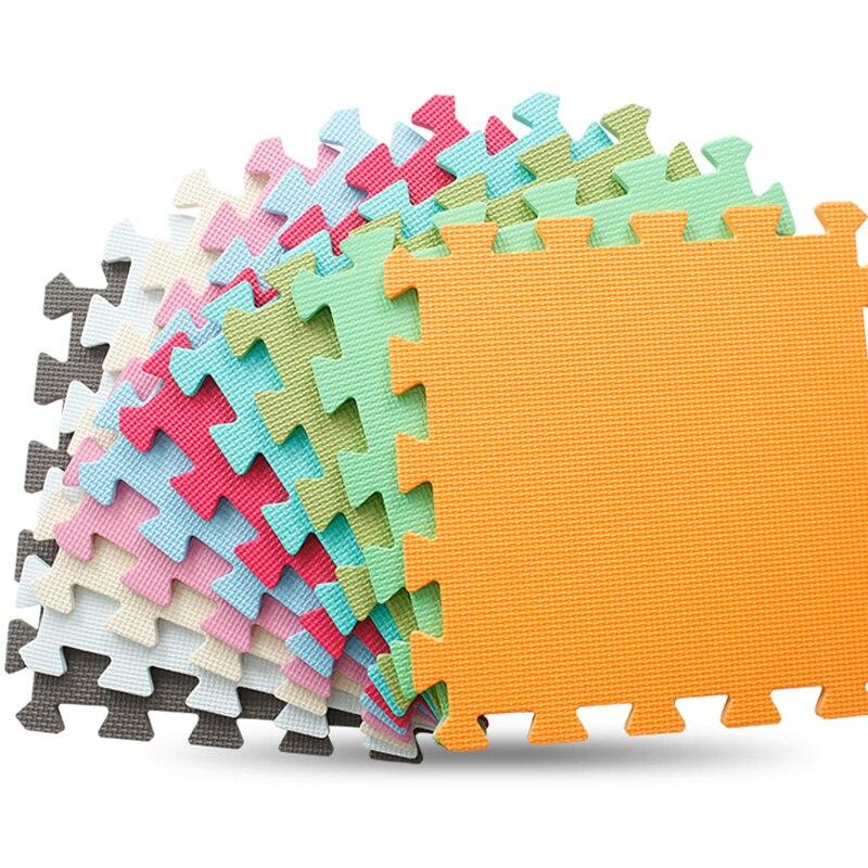 JCC 6 pz/set Bambino EVA Foam Puzzle Gioca Mat/Tappeti per bambini Giocattoli tappeto per bambini Incastro Esercizio Piastrelle Per Pavimenti, ogni: 30 cm X 30 cm