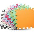JCC 6 unid/set alfombra de juego de espuma EVA para bebés/alfombras para niños, alfombra para niños, baldosas de ejercicio entrelazadas, cada una: 30 cm X 30 cm