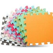 JCC 6 개/대 아기에 바 거품 퍼즐 놀이 매트/어린이 러그 장난감 카펫 어린이 연동 운동 바닥 패드 타일, 각: 32X32cm