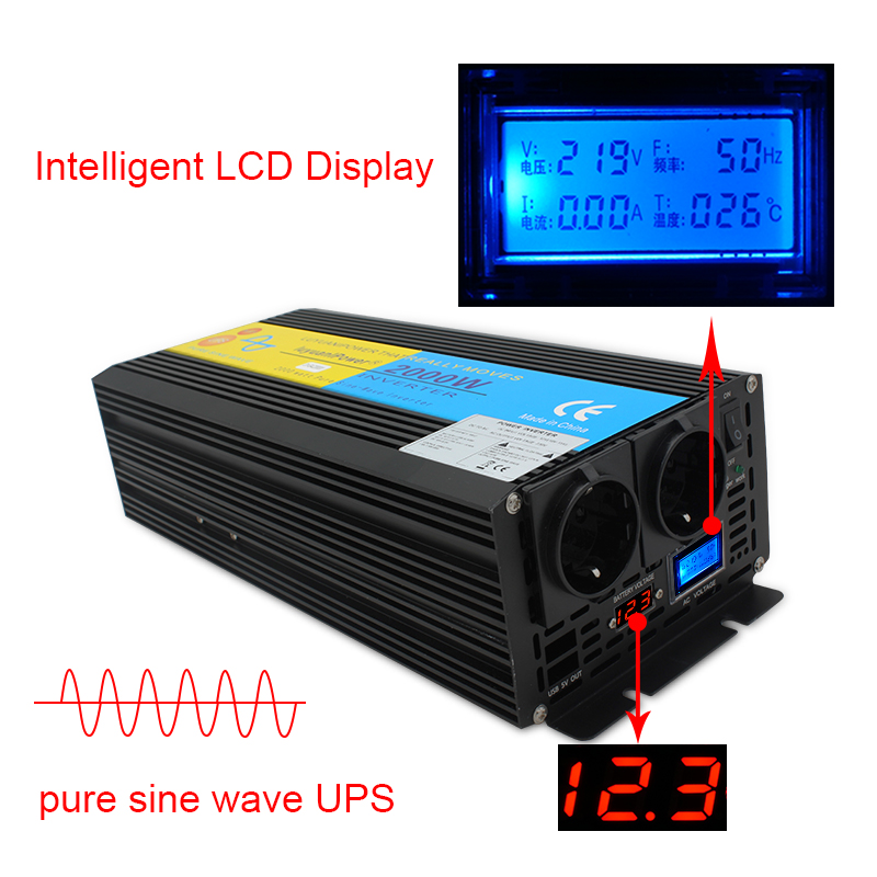 HTB1Dt48asTxK1Rjy0Fgq6yovpXad - UPS inverter pure sine wave 2000W 4000W DC 12V/24V to AC 220V-240V LCD Inverter+Charger & UPS,Quiet and Fast Charge power supply
