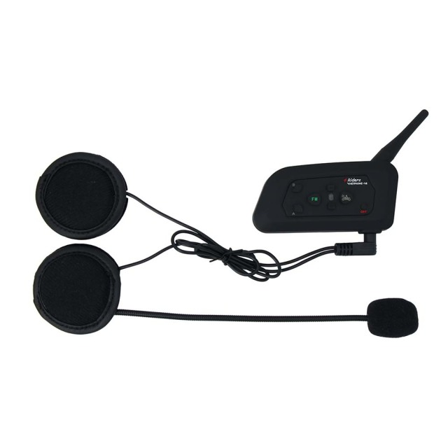 2PCS 3.5MM EJEAS V6 V6 Pro Accessories Earphone Speaker Microphone Clip Motorcycle Helmet Bluetooth Intercom Moto 5