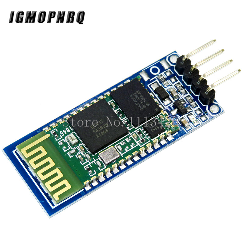 10pcs/lot <font><b>HC</b></font>-<font><b>06</b></font> Wireless Serial 4 Pin Bluetooth RF Transceiver Module RS232 TTL HC06 Bluetooth Module image