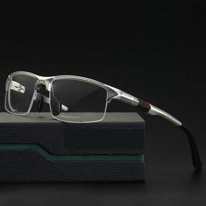 Image 1 - 2019 NEW Aluminum Magnesium Sports Style Progressive Reading Glasses Commercial Affairs Glasses Photochromic Reading Glasses NX
