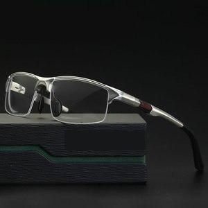 Image 1 - 2019 새로운 알루미늄 마그네슘 스포츠 스타일 프로그레시브 독서 안경 상업 업무 안경 포토 크로 믹 돋보기 NX
