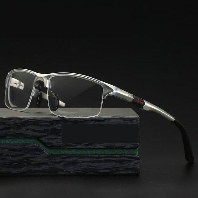 2019 새로운 알루미늄 마그네슘 스포츠 스타일 프로그레시브 독서 안경 상업 업무 안경 포토 크로 믹 돋보기 NX