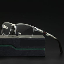 Новинка 2019, спортивные стильные прогрессивные очки для чтения из алюминиево магниевого сплава, очки для коммерческого дела, фотохромные очки для чтения NX