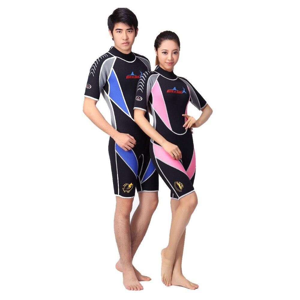 Shorty 2017 3mm Sport NEW  Scuba  Blue or Women's Pink Dive & Sail  Diving Wetsuit for men chillaz sandras shorty