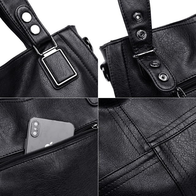 Genuine Leather Casual Shoulder Bags 4