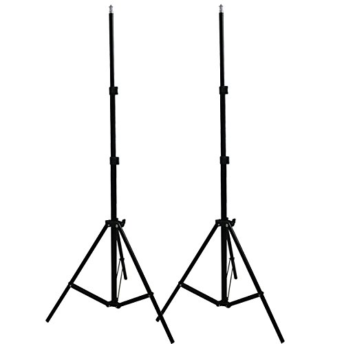 Photo Studio 2PCS Light Stands 2M 7ft Adjustable Light Tripod Stands for HTC Vive VR Youtube Videos Shooting NO00DG Y image