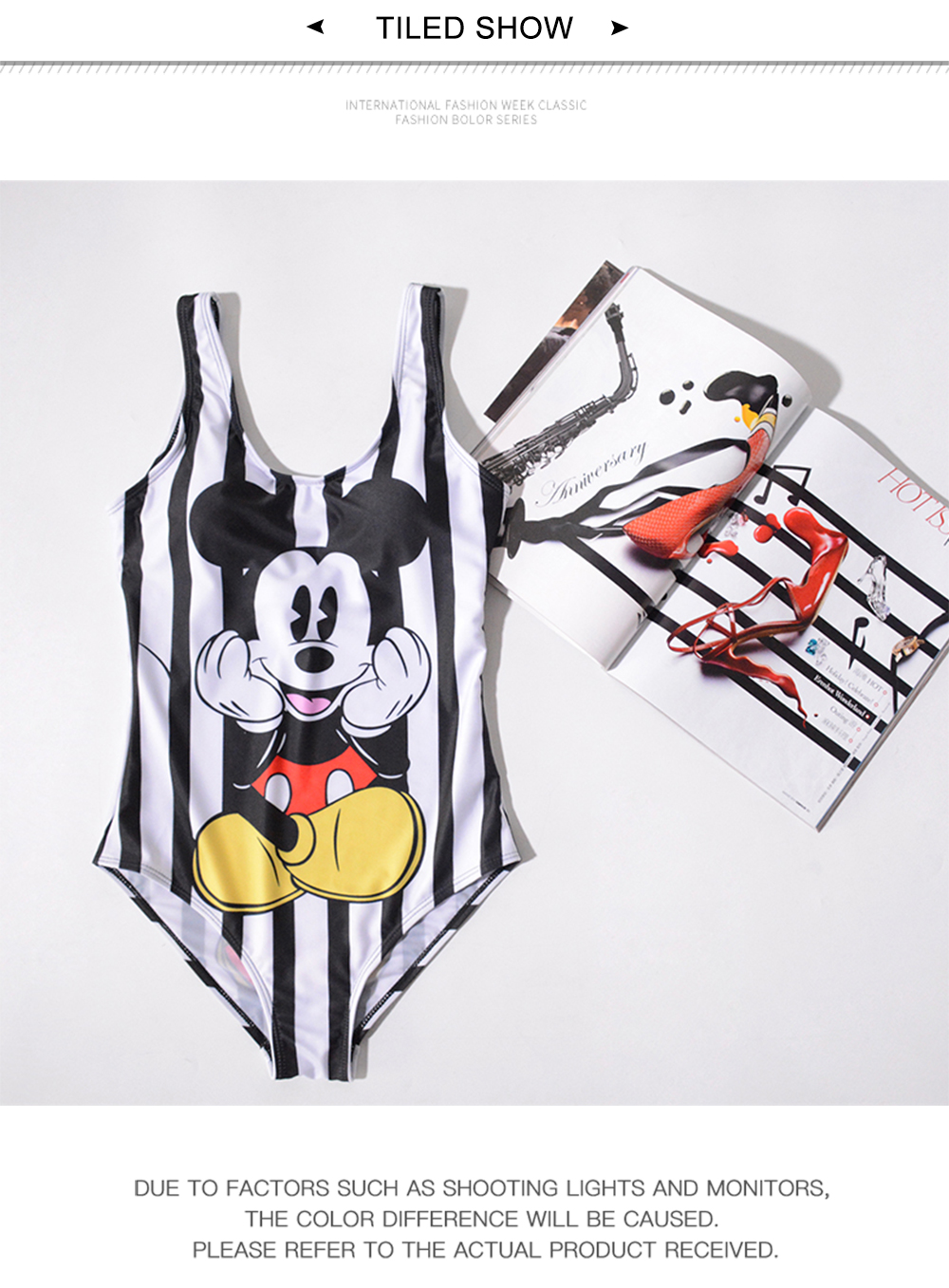 17 Pattern Cartoon Styles Women One Piece Swimsuit 3D Print Swimwear One-Piece Suits full suit for swimming  one piece swimsuit 15