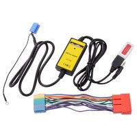 Car Audio CD MP3 Player USB Interface AUX Input Adapter with Card Reader + 20Pin Cable for Audi A2 A4 A6 A8 AllRoad DY215