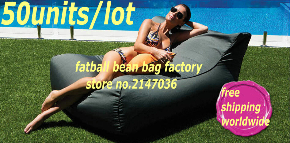50units per lot Extra large two seat lounge outdoor beach sofa bed pool floating