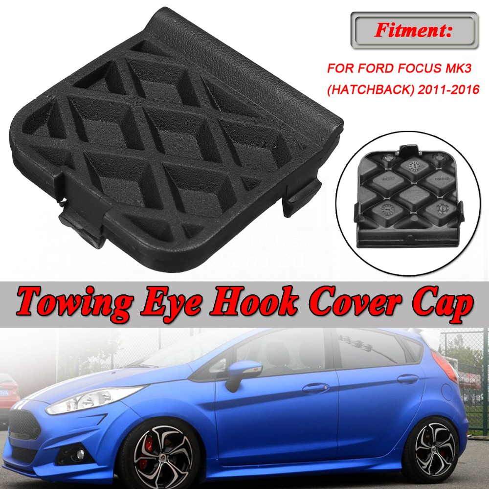 REAR Bumper Tow Hook Cover Cap TOW BRACKET for FORD FOCUS 2015 Hatchback