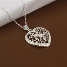 YERLLSOM High Quality retail cheap Woman Silver Jewelry Necklace N367