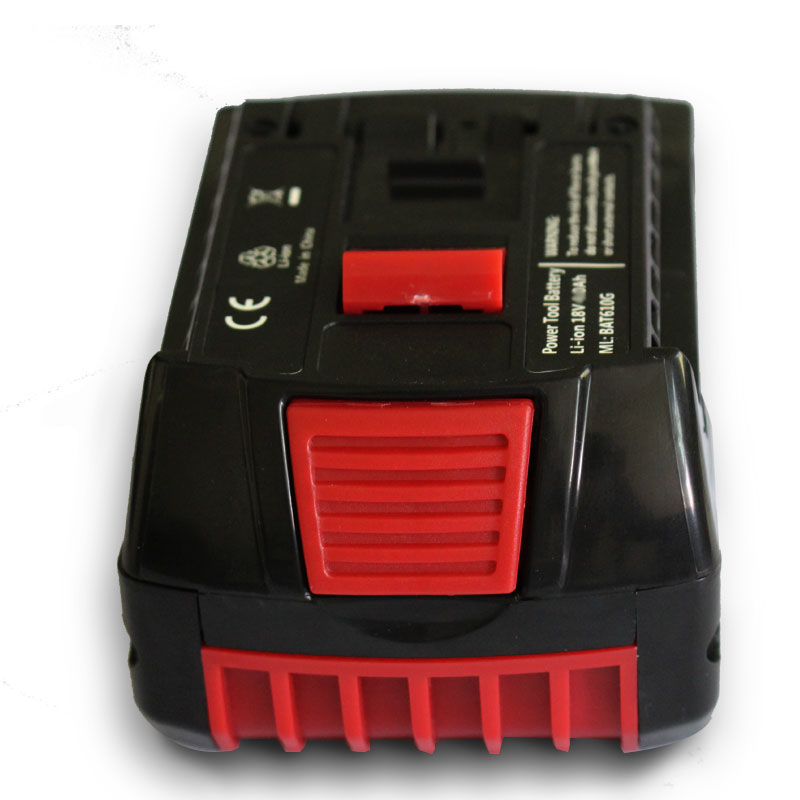 BAT610G Tool Accessory Electric Drill Parts Li-ion Battery 18V 3000mAh For Bosch 3Ah BAT609 BAT609G BAT618 BAT618G 2 607 336 236 spare 2600mah 36v lithium ion rechargeable power tool battery replacement for bosch d 70771 bat810 2 607 336 107 bat836 bat840